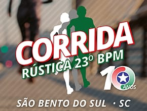 1ª CORRIDA RÚSTICA - 23° BPM - 10 ANOS