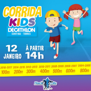 CORRIDA KIDS DECATHLON 2019 - 1ª ETAPA - Imagem do evento