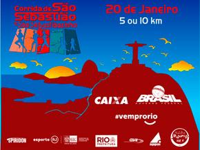 SÃO SEBASTIÃO CAIXA 2018 - 5KM E 10KM - Imagem do evento