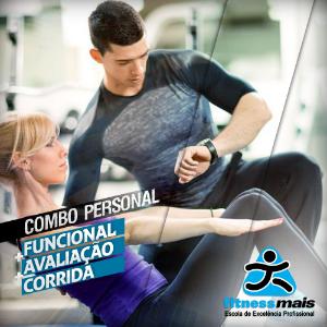COMBO PERSONAL TRAINER - AVALIAÇÃO FÍSICA, TREINAMENTO FUNCIONAL E TREINAMENTO DE CORRIDA