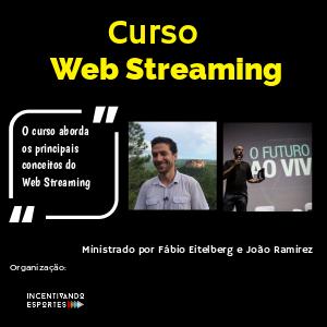 Curso Web Streaming - Imagem do evento