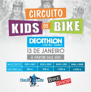 CIRCUITO KIDS DE BIKE DECATHLON TORRES - 1ª ETAPA  - Imagem do evento