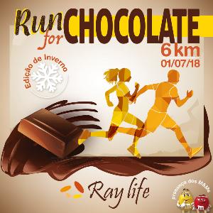 RUN FOR CHOCOLATE 6KM - EDIÇÃO INVERNO
