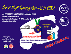 SMART NIGHT RUNNING MORUMBI 2018 - 2ª ETAPA - Imagem do evento