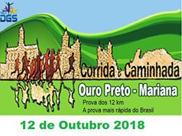 VI CORRIDA E CAMINHADA OURO PRETO A MARIANA - Imagem do evento