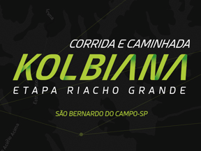 CORRIDA E CAMINHADA KOLBIANA - ETAPA RIACHO GRAND