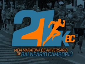 21K BC - 4º MEIA MARATONA DE ANIVERSÁRIO DE BALNEÁRIO CAMBORIÚ - Imagem do evento