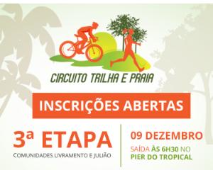 3ª ETAPA CIRCUITO TRILHA E PRAIA - Imagem do evento
