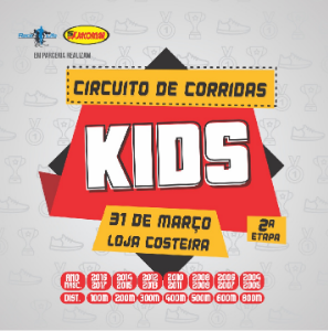 2ª ETAPA do CIRCUITO de CORRIDA KIDS SUPERMERCADO JACOMAR 2019