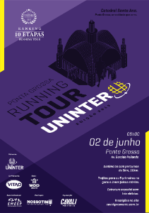 RUNNING TOUR UNINTER - PONTA GROSSA