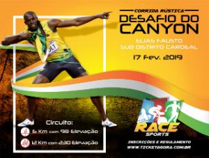 CORRIDA RÚSTICA - DESAFIO CANYON RACE SPORTS CARDEAL