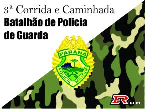 3ª CORRIDA BATALHÃO DE POLICIA DE GUARDA - Imagem do evento