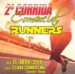 2ª CORRIDA CLUBE COMERCIAL RUNNERS - Imagem do evento