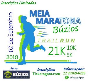 MEIA MARATONA DE BÚZIOS 2018 - TRAIL RUN - Imagem do evento