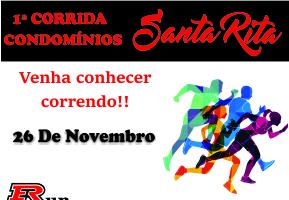 1ª CORRIDA E CAMINHADA DO CONDOMÍNIO SANTA RITA 2017 - Imagem do evento
