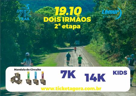 CIRCUITO TRAIL 7K 2ª ETAPA - DOIS IRMÃOS