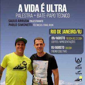 MINHA VIDA É ULTRA - COM BATE PAPO DE TRAIL RUNNING