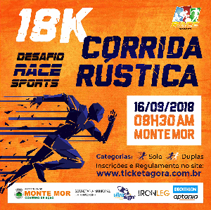 DESAFIO 18K RUN CROSS COUNTRY - Imagem do evento