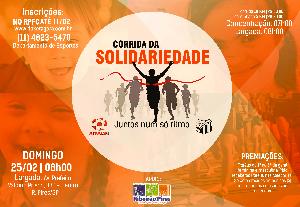 1ª CORRIDA DA SOLIDARIEDADE APARESPI/RPFC - Imagem do evento