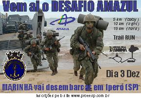 DESAFIO AMAZUL - Imagem do evento