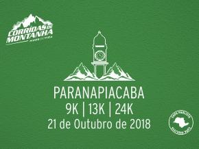 CORRIDAS DE MONTANHA - ETAPA PARANAPIACABA