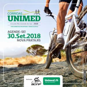 CIRCUITO CORRIDAS UNIMED ETAPA UNIMED VALE DAS ANTASRS - PASSEIO CICLÍSTICO 2018 - Imagem do evento