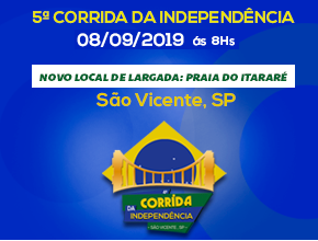5º CORRIDA - CAMINHADA DA INDEPENDÊNCIA