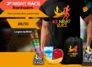 3ª NIGHT RACE - ITANHAÉM