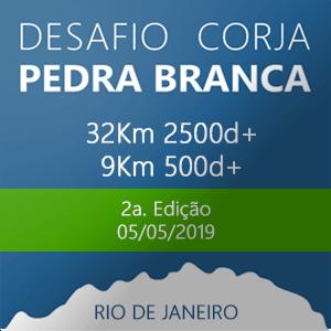 DESAFIO CORJA PEDRA BRANCA 2019
