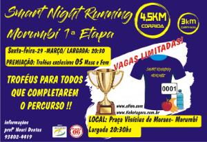 SMART NIGHT RUNNING MORUMBI 1ª ETAPA - 2019