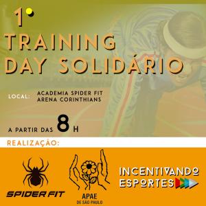 1º Training day solidário