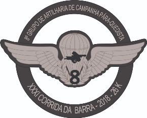 31ª CORRIDA DA BARRA - CORRA COM OS MILITARES DA BRIGADA DE INFANTARIA PÁRA-QUEDISTA - Imagem do evento