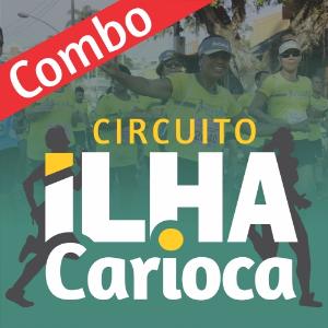 COMBO CIRCUITO ILHA CARIOCA 2018 - 2 etapas