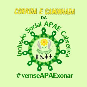 CORRIDA E CAMINHADA DA INCLUSÃO SOCIAL APAE CABREÚVA - Imagem do evento