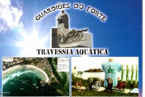 Guardiões do Forte - Travessia Aquática, Cabo Frio será palco de um evento destacando dois pontos turísticos muito visitado na cidade a praia do forte e o forte são matheus. - Imagem do evento