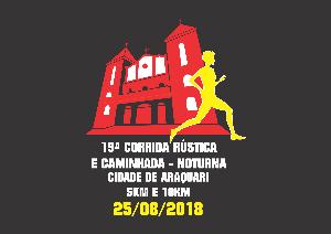 19ª CORRIDA RÚSTICA CIDADE DE ARAQUARI - Imagem do evento