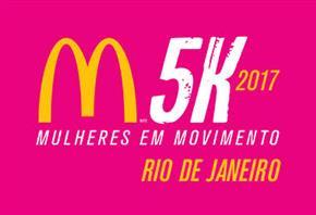 CORRIDA E CAMINHADA FEMININA McDONALD'S 5K 2017 - RIO DE JANEIRO - Imagem do evento