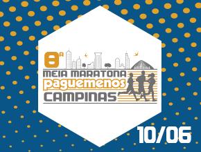 8ª MEIA MARATONA PAGUE MENOS CAMPINAS - Imagem do evento
