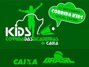 CORRIDA DAS ACADEMIAS CAIXA KIDS 2017 - Imagem do evento