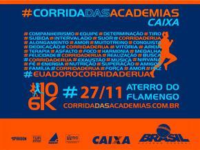 CORRIDA DAS ACADEMIAS CAIXA - 2016 - Imagem do evento