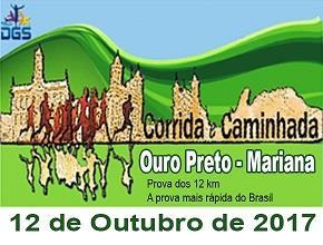 V CORRIDA E CAMINHADA OURO PRETO A MARIANA - Imagem do evento