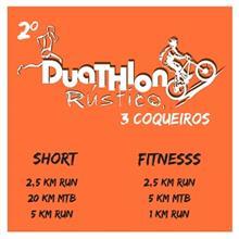 2º DUATHLON RÚSTICO 3 COQUEIROS - Imagem do evento