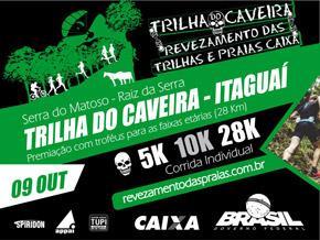 REVEZAMENTO DAS TRILHAS E PRAIAS CAIXA - ETAPA TRILHA DO CAVEIRA - Imagem do evento